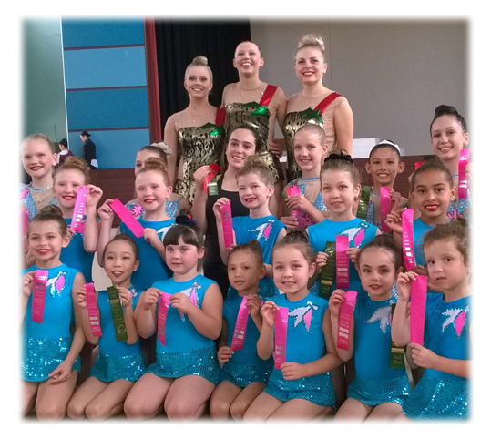 Elite Gymnastics Gold Coast comp